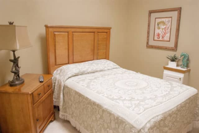 A private bedroom at Bon Secours Community Hospital.