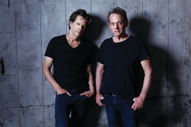 Kevin and Michael Bacon. Photographs by Jeff Fasano.