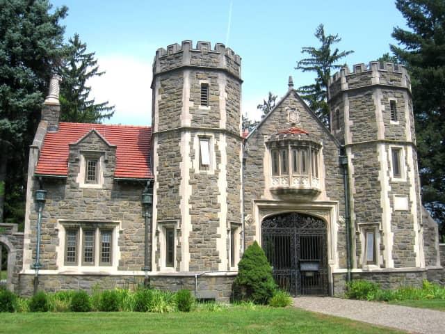 Ward Gate at Bard College, Annandale-on-Hudson, N.Y.