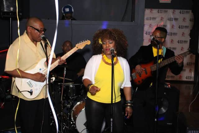 R&B/Soul group BaseCamp will perform at the First Friday event, which starts at 5 p.m.