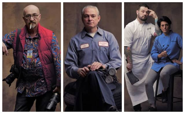 """Photographer Phil Cantor is depicting Montclairites in his new series, """"Line of Work."""""""
