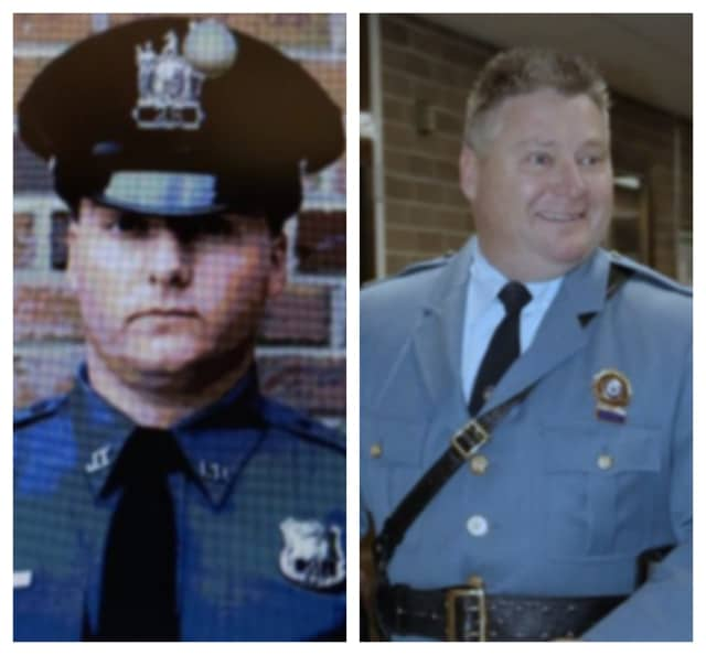Jefferson Police Chief William Craig Jr. 1989 vs. 2019.