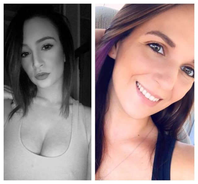 Samantha Viscardi, left, had been drinking and was using her phone at the time of a car accident that killed her friend Kimberly Boyle, right.
