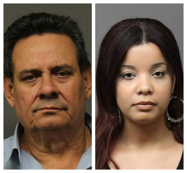 Abel Marquez-Mesa, 62, and Dorka Nova, 33, both of Jersey City, were found with more than six pounds of marijuana while driving through Fort Lee.