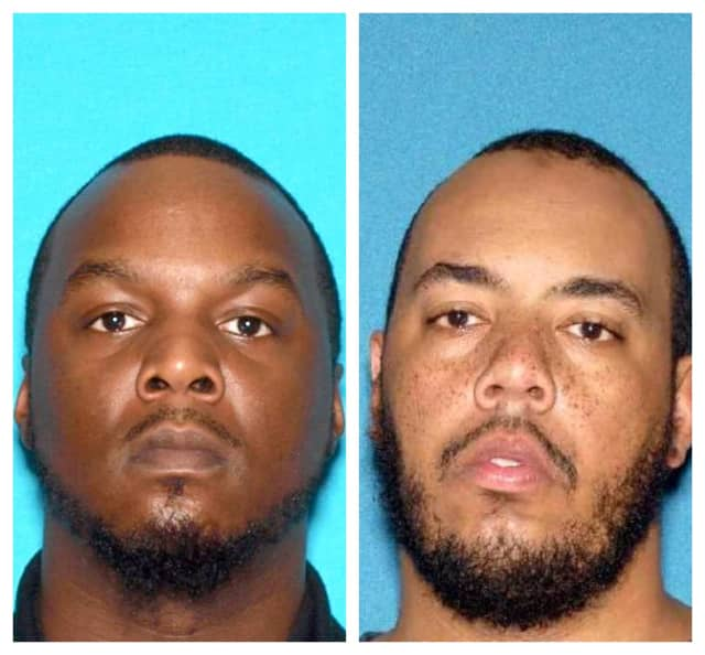 George A. Bease, 32, of Bridgewater, and Hafeez A. Brown, 33, of, Linden.