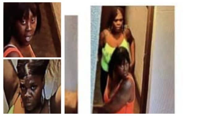 The women orchestrated and assisted in robbing the man of his personal belongings on the 100 block of Park Place Friday, Newark police said.