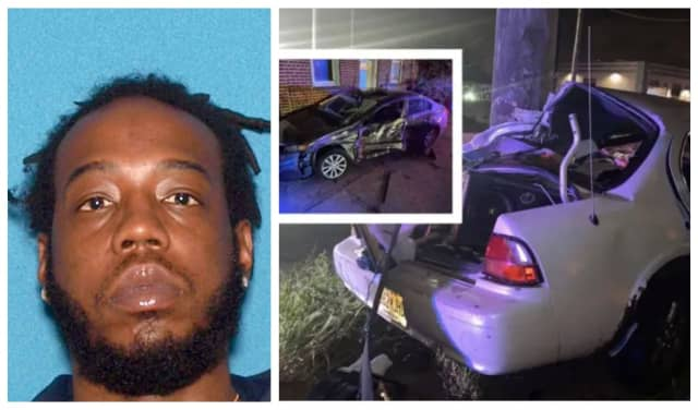 Nathaniel Dickerson of Paterson surrendered to Hudson County detectives, and was charged in the wild Tonnelle Avenue crash.