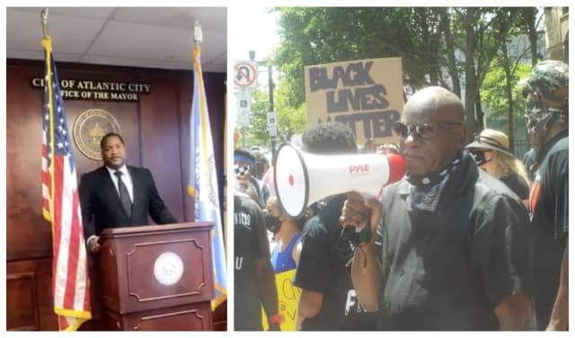 Marty Small Jr. earlier this week urged Steve Young to postpone his Black Lives Matter protest in Atlantic City, set for July Fourth.