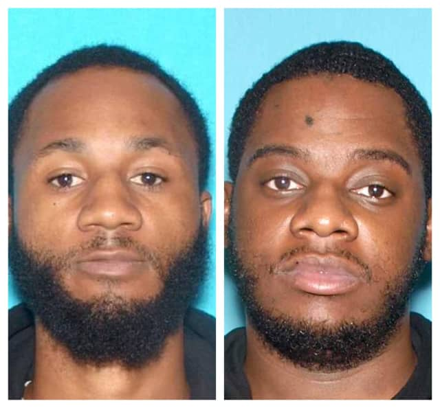 "Ameer Harris, aka ""A Dot,"" 29, of New Brunswick, left, and Najee K. Croom aka ""Na-Murder,"" 28."