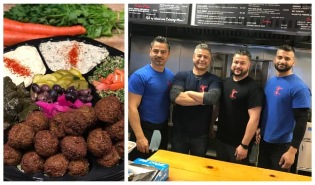 The Kwara family runs Falafel Brothers in Brick and Ibby's Falafel in Jersey City.
