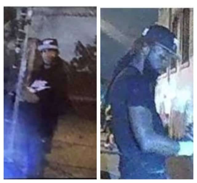 Authorities in Newark are seeking help identifying the above pair wanted in connection with the recovery of a firearm.