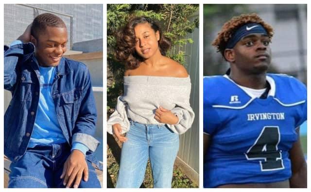 Kamal Johnson, Taylor Hill and Nashawn Brooks