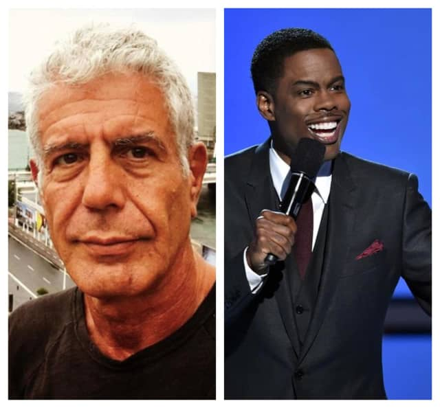 Chris Rock and Anthony Bourdain are among the many North Jersey natives nominated for the New Jersey Hall of Fame's 11th class.
