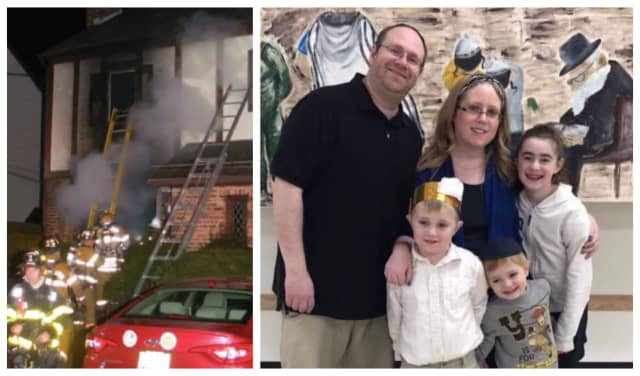The Horowitz family lost their house and nearly all of their belongings in a Friday evening fire.