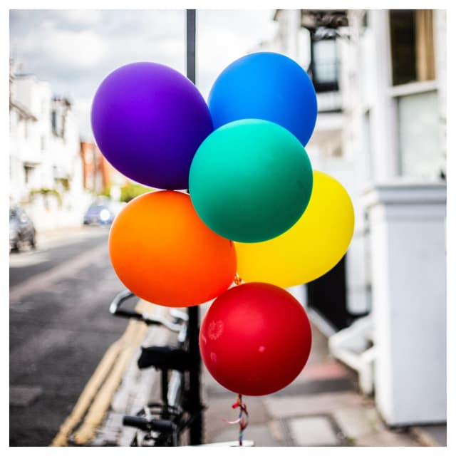 Police in Westport are investigating after balloons celebrating Pride Month were removed from an area bridge.