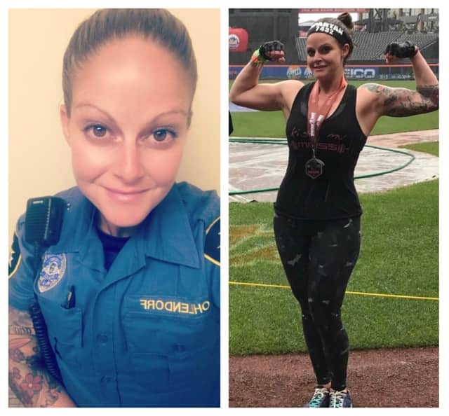 Wayne Police Officer Christie Ohlendorf, of Paramus, was voted North Jersey's favorite fit cop.