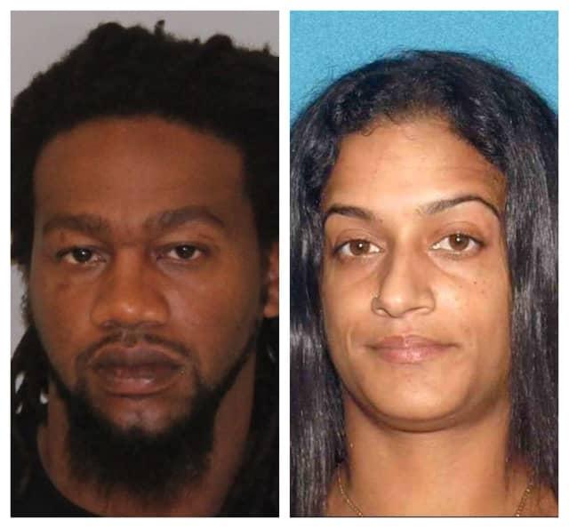 Darius Bolden, 33, and Yasmin Tejada, 30, both of Jersey City.