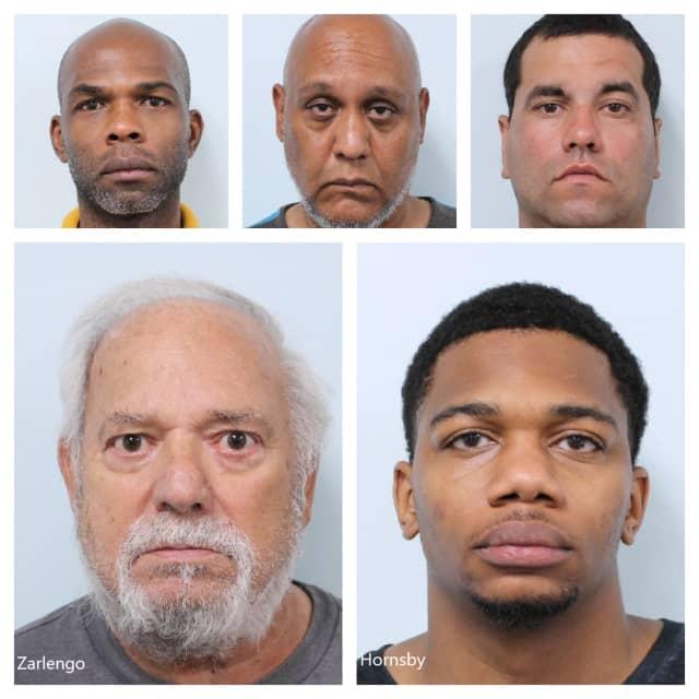 Delroy Armstrong, Luis Gonzalez-Colon, Jason Cruz, James Zarlengo, and Drevon Hornsby