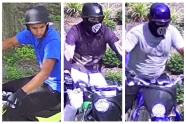 Know them? Waterbury Police are searching for the three men for allegedly vandalizing an area library.