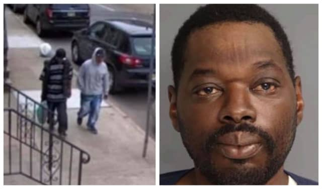 Authorities are seeking a pair of men who stole a package from a porch, along with Lawrence Nesmith, 47, who was last seen May 9.
