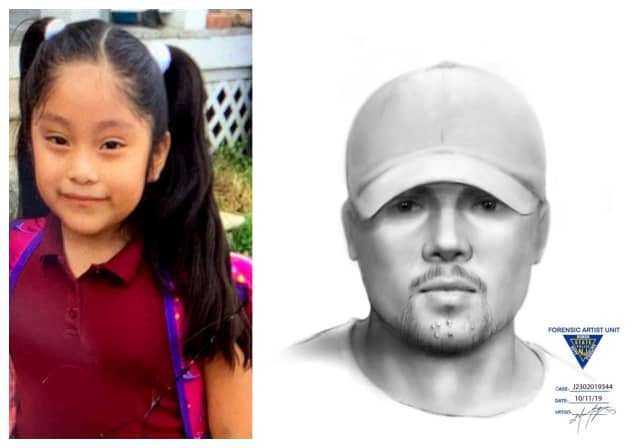 Dulce Alavez, 5, and a man who may have witness her disappearance, according to police.
