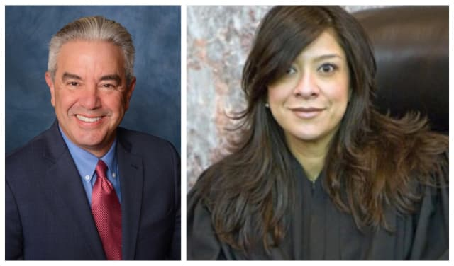 Mark Anderl and Judge Esther Salas