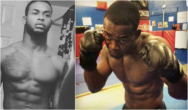 """It's not the size of the dog in the fight, it's the size of the fight in the dog,"" Juvaunne Gordon of Hackensack captioned the above photo of himself (right). He died April 20 at 26 years old."