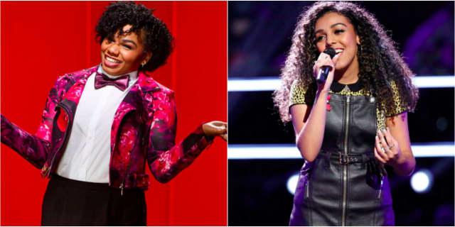 "Wé McDonald, left, and Josette Diaz could advance to next round on NBC's ""The Voice."""