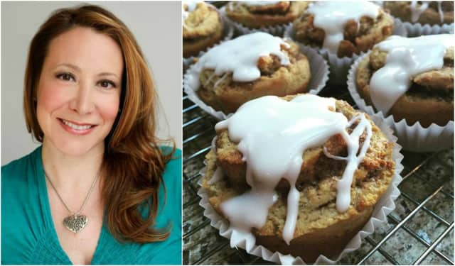Dawn Catherine Pascale is bringing her cinnamon rolls and more plant-based gluten-free treats to Om Sweet Home's new Cliffside Park location.
