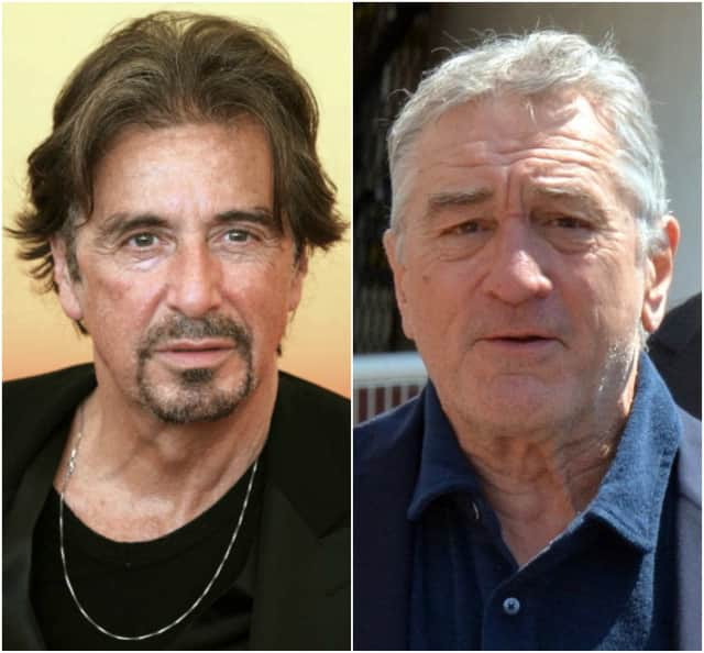 "Al Pacino and Robert DeNiro are in the new Netflix series, ""The Irishman."""