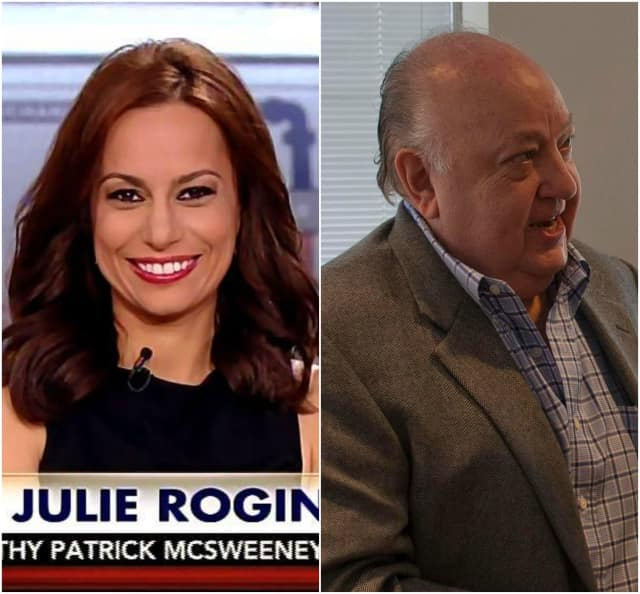 Julie Roginsky is accusing Cresskill's Roger Ailes of harassment.