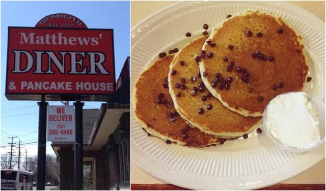 Matthews' Diner is celebrating 50 years in Bergenfield.
