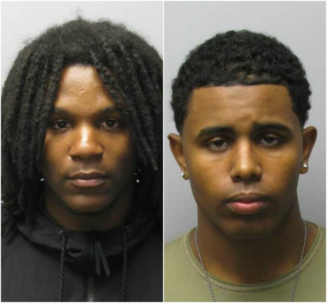 Michael Jefferson, 22 of Hackensack, and Roberto Santiago, 22 of Paterson.