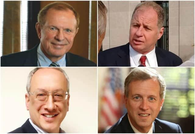State Senator Raymond Lesniak, Teaneck activist Bill Brennan, Tenafly Councilman Mark Zinna and Assemblyman John Wisniewski are running for Governor.