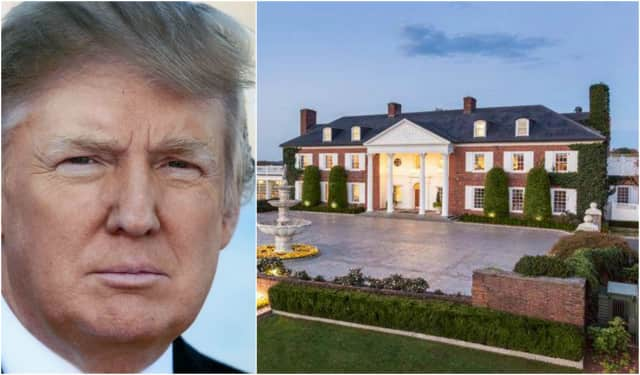 Trump will be in New Jersey at his Bedminster golf club for the next 17 days.