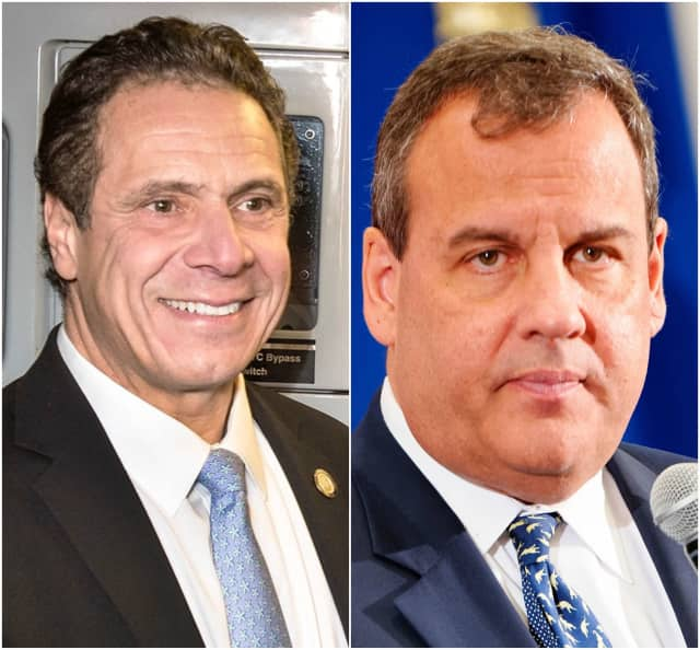 Governors Andrew Cuomo and Chris Christie.