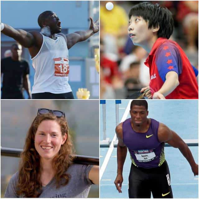 Four olympic athletes from Bergen and Passaic counties are getting ready to compete.