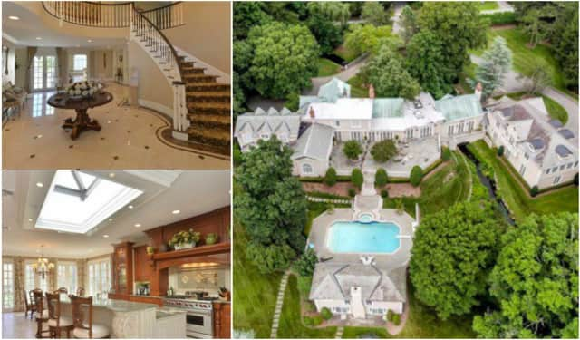 The E. Saddle River Road home belongs to Wall Street exec Kenneth Pasternak, NJ.com says.
