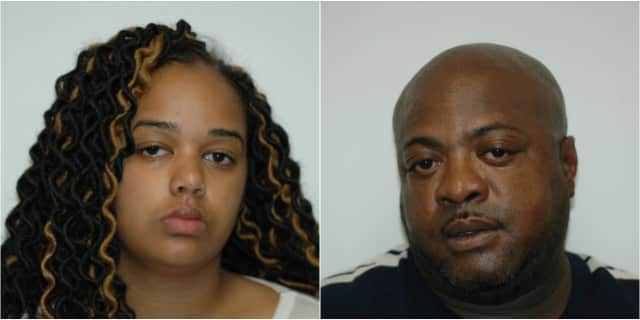 McKenna Gordon, 20 of Albany, N.Y., and Larry Hunt, 45 of Jersey City, had more than 1800 bags of heroin, Paramus Police said.