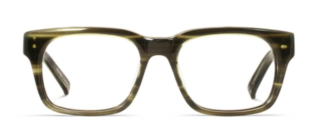 "The ""Beckett"" glasses from Warby Parker. The company will expand a lab in Sloatsburg, N.Y., according to lohud.com."