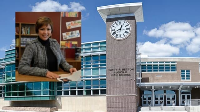 Former Becton High School Superintendent Louise Clarke was placed on paid administrative leave, school officials said.