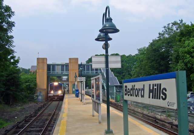Get spooked at the Bedford Hills train station.