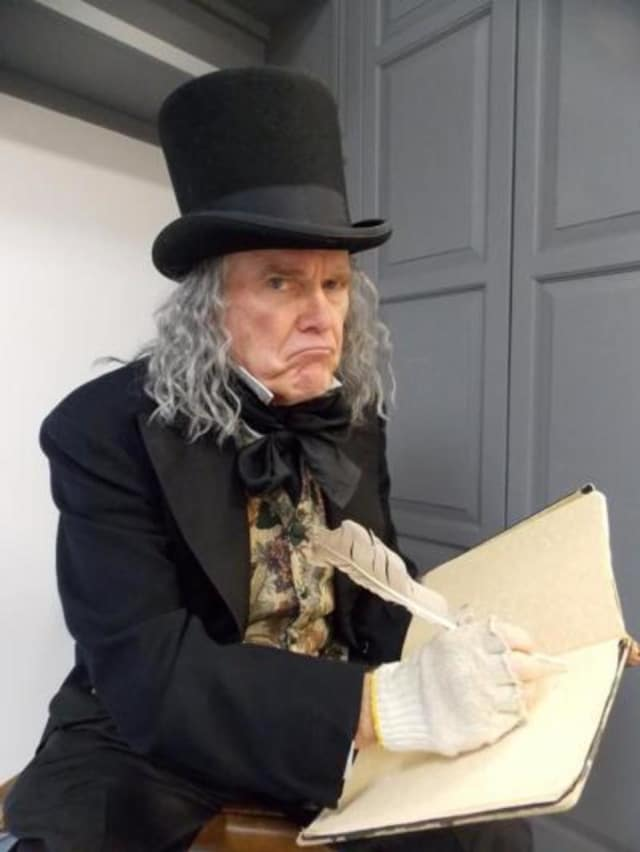 "Ebenezer Scrooge will be one of the ""Christmas Carol"" characters mingling with folks at a Victorian dinner at the Beekman Arms-Delamater Inn on Saturday, Dec. 12."