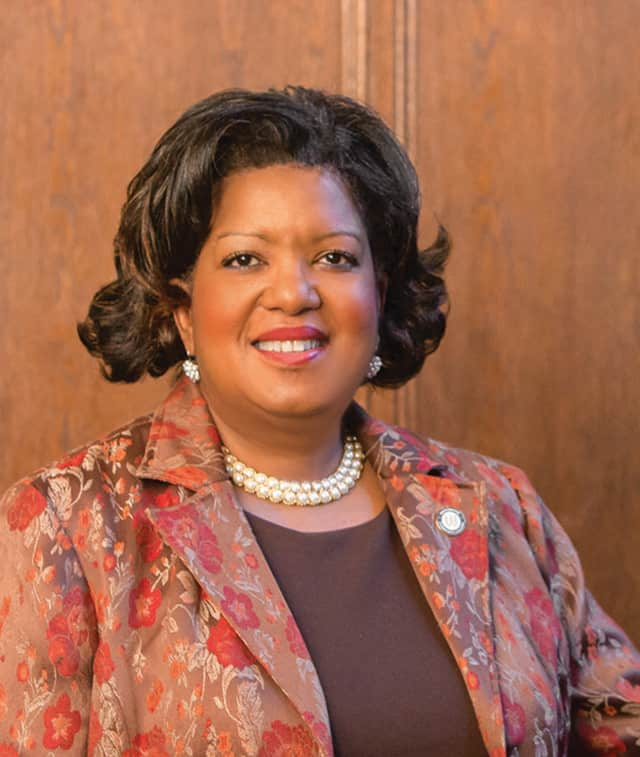Westchester Community College's new president, Dr. Belinda Miles