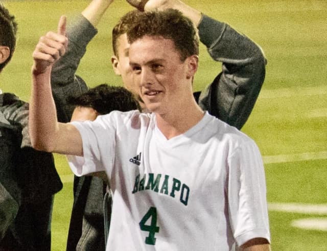 Ben Landel, of Wyckoff, plays soccer for Ramapo High School.