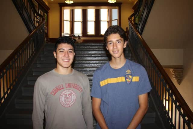 Benjamin Hurd and Jonathan Salama are National Merit semifinalists.