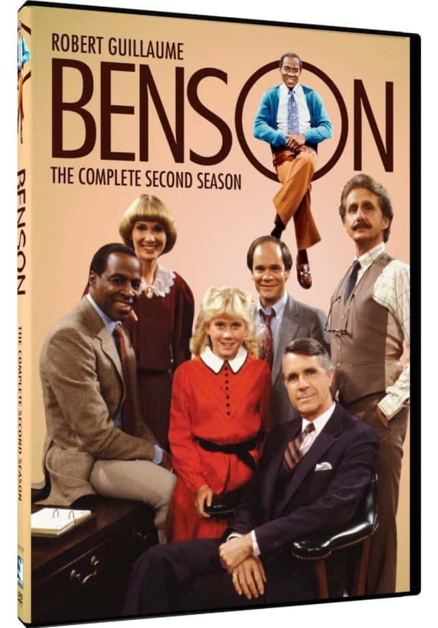 """James Noble, at right front, played Gov. Gatling on """"Benson"""" for several years."""