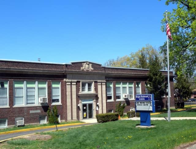 The principal of Bergen Boulevard School, pictured, is suing Ridgefield Public Schools.