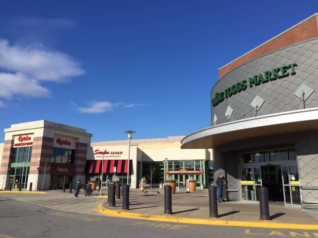 The Bergen Town Center. The National Weather Service forecasts sunny skies and temperatures in the 50s this weekend.