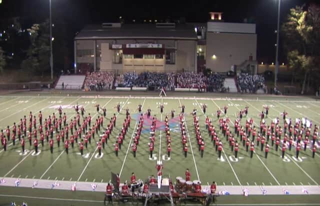 Bergenfield High School Marching Band, 2013